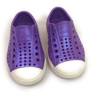 Girls child toddler natives purple iridescent 6